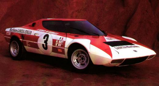 Marlboro liveried Stratos