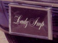 plate: Lady Imp