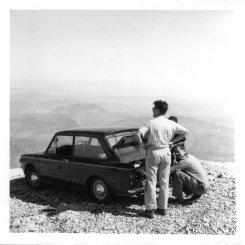 Garth Vaughan on Mont Ventoux