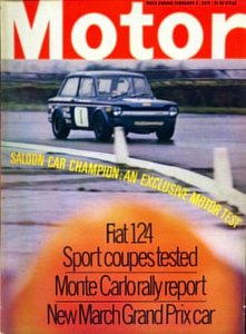 Motor 1971 Feb 3: Track test: Bevan Imp
