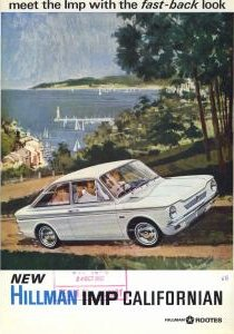 Hillman Imp Californian brochure 1967