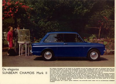 De elegante Sunbeam Chamois mark II
