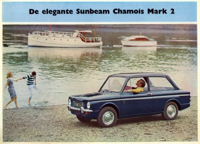De elegante Sunbeam Chamois mark 2