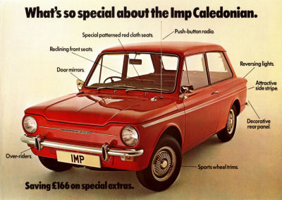 What's so special about the Imp Caledonian