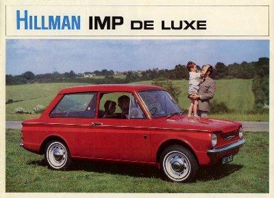 Hillman Imp de luxe Mk.2