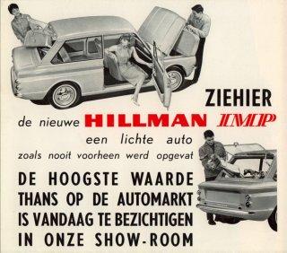 Ziehier de nieuwe Hillman Imp
