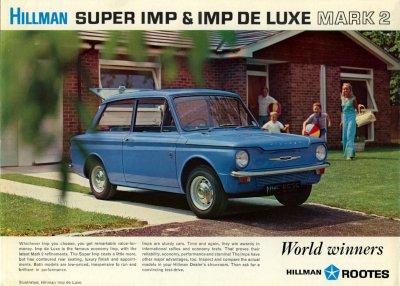 Hillman Super Imp & Imp de Luxe mark 2