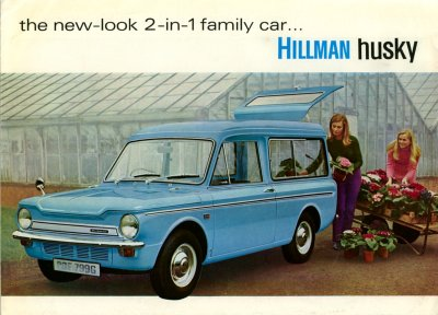 The new-look 2-in-1 family car