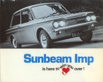 Sunbeam Imp is here to win you over !