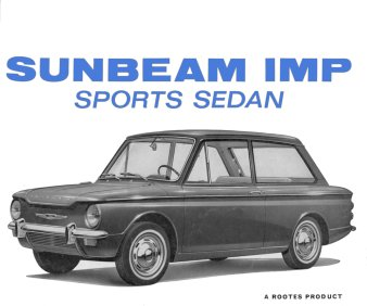 Sunbeam Imp sports sedan