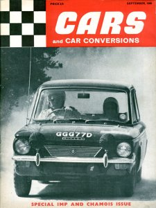 Cars & Car Conversions September 1966