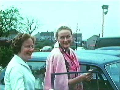 Sheila Taylor and Rosemary Smith, 1965 Scottish Rally