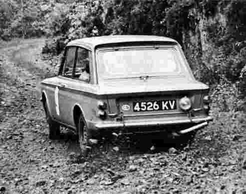 'Tiny' Lewis, Scottish Rally, 1965