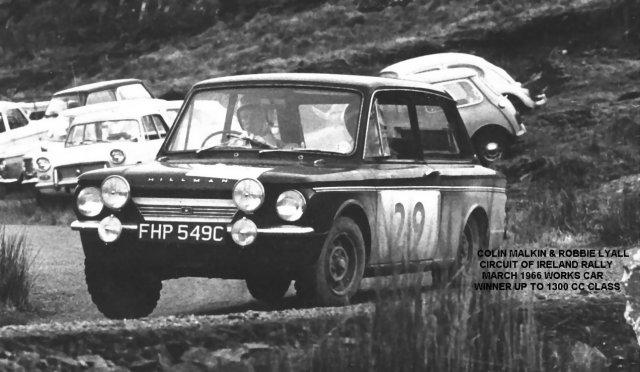 Malkin & Lyall 1966 Ireland