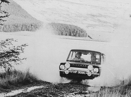 Tiny Lewis RAC Rally 1965