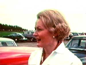 Rosemary Smith at Silverstone 1965