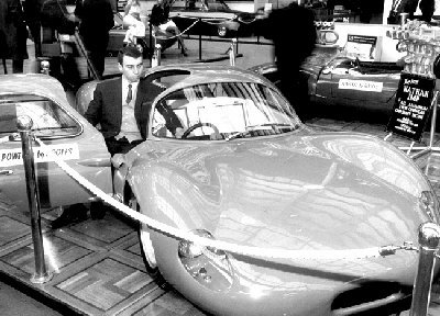 Prototype Nathan GT. Racing Car International Show, Olympia 1967